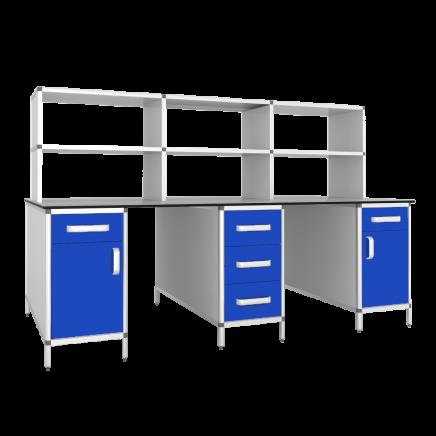 Стол лабораторный островной СЛО-3КН