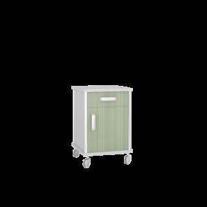 Тумба медицинская подкатная ТП-1К