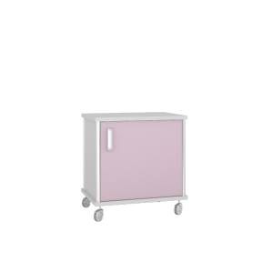 Тумба медицинская подкатная ТП-4К