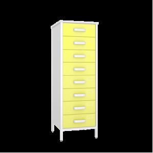 Шкаф медицинский картотечный ШК-4КВ