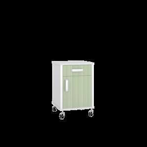 Тумба медицинская подкатная ТП-1КВ