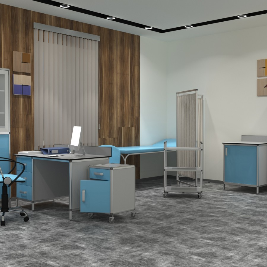 Кабинет врача 1 серия 3D
